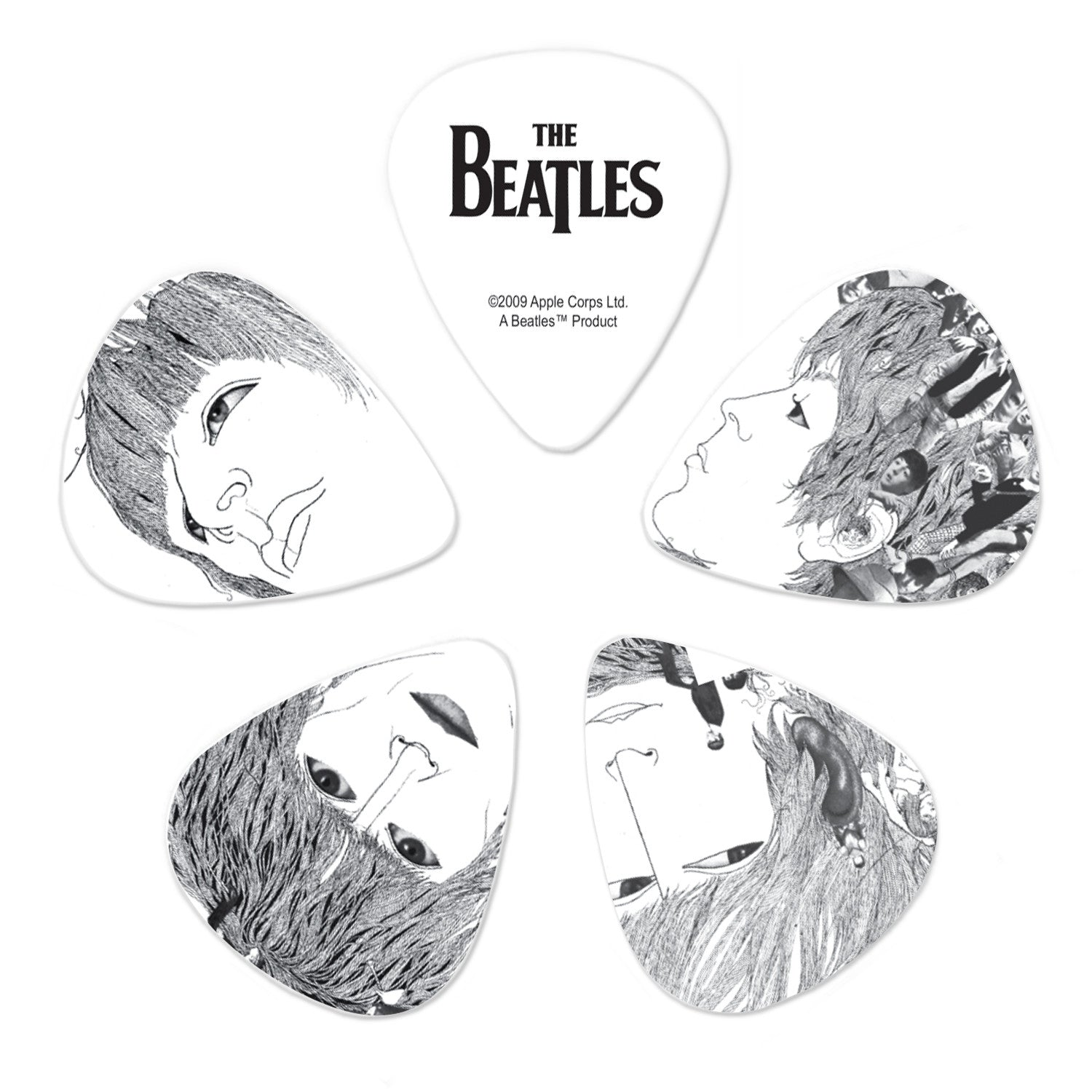 Planet Waves Beatles Guitar Picks - Revolver - 10 Pack Thin