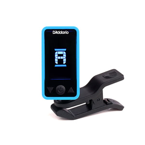 Planet Waves Eclipse Headstock Tuner - Blue