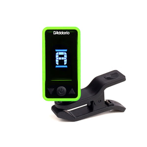 Planet Waves Eclipse Headstock Tuner - Green