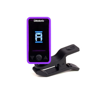 Planet Waves Eclipse Headstock Tuner - Purple