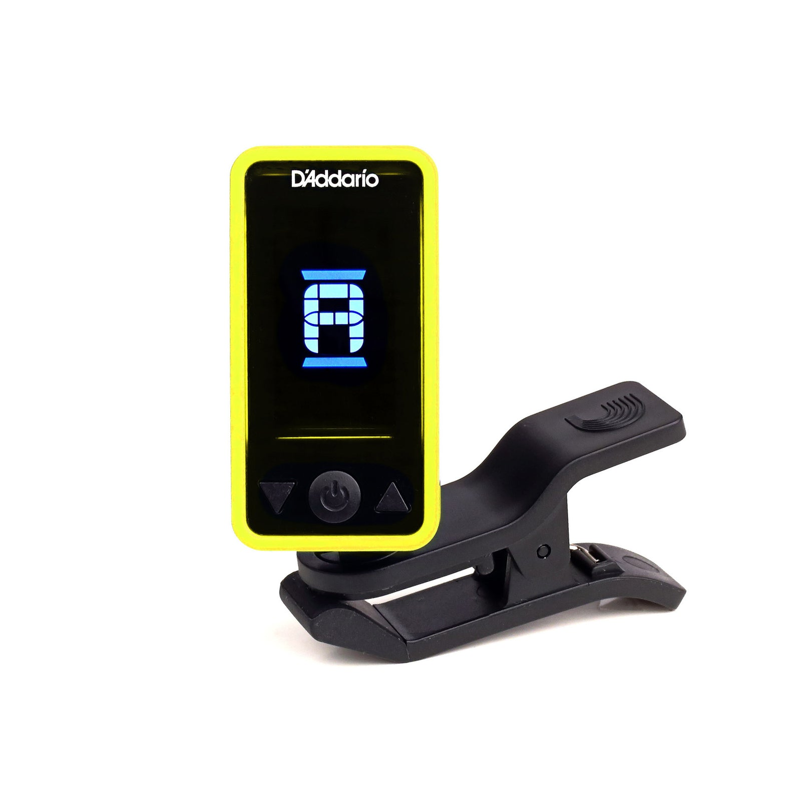 Planet Waves Eclipse Headstock Tuner - Yellow