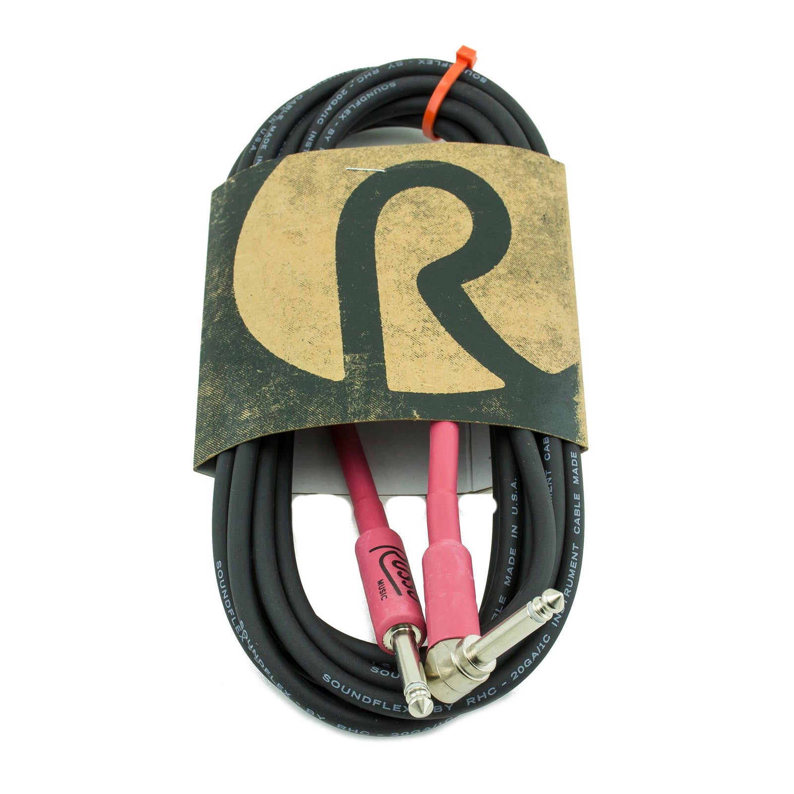 "Russo Music 1/4 To 1/4"" Unbalanced Cable - 15' R"