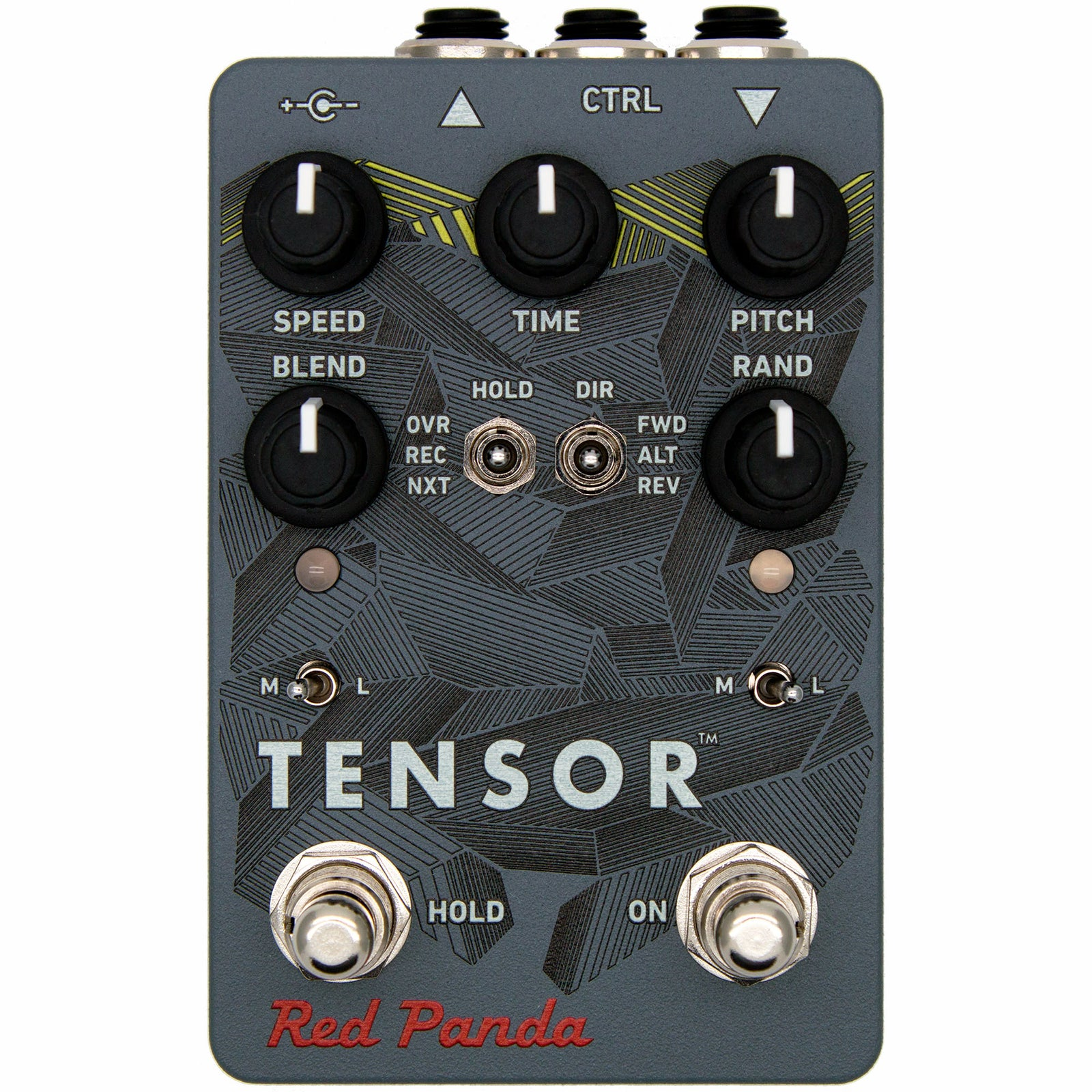 Red Panda Tensor - Time Warp Pedal