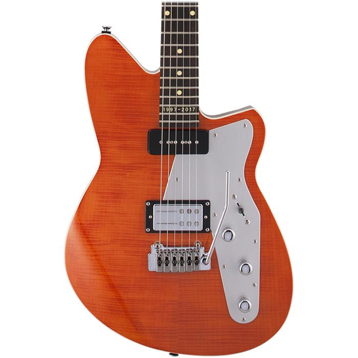 Reverend 20TH Anniversary Double Agent - Rock Orange Flame Maple