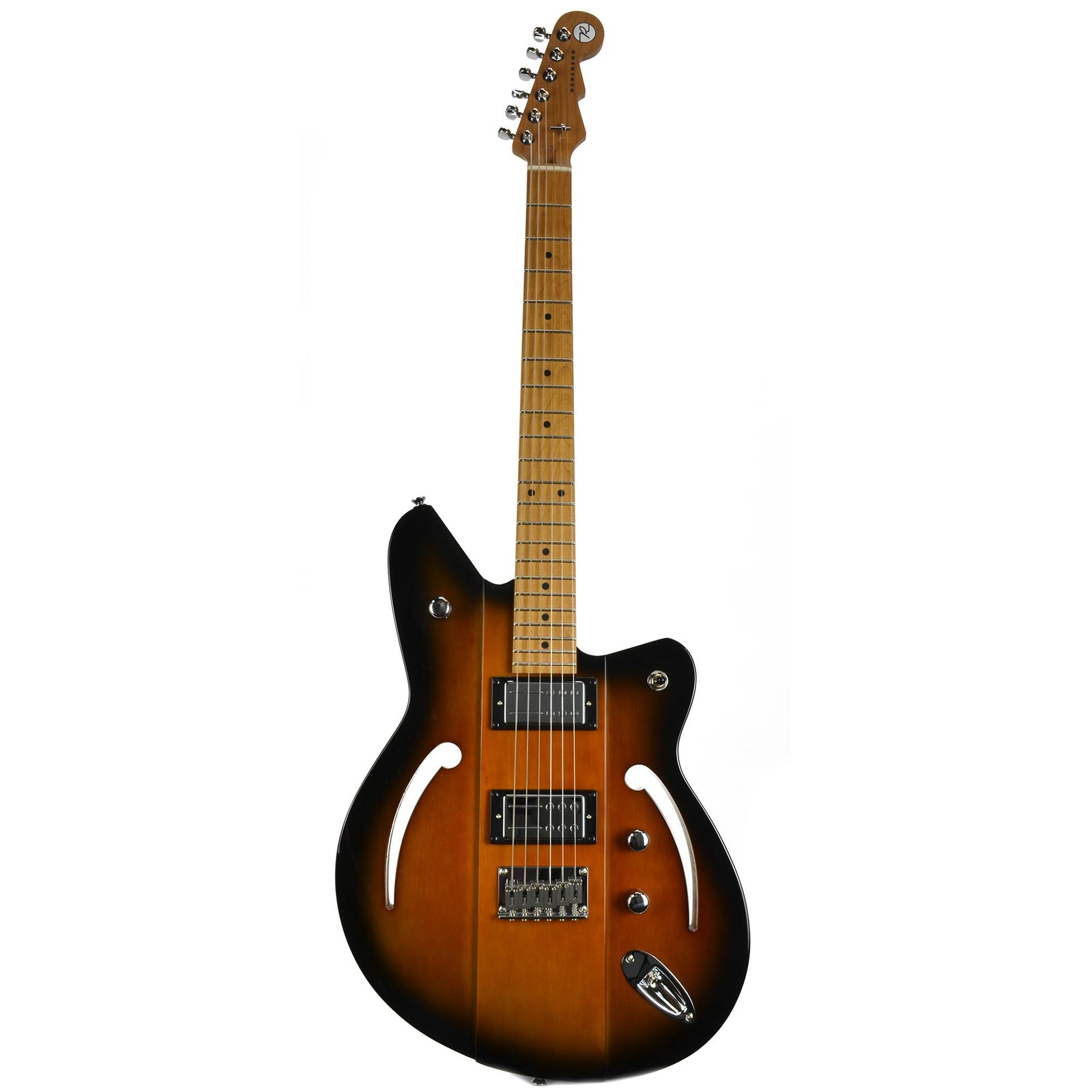 Reverend Airsonic HB Electric Guitar - Coffee Burst
