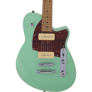Reverend Charger 290 Electric Guitar - Oceanside Green