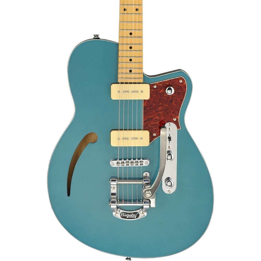 Reverend Club King 290 With Bigsby - Deep Sea Blue