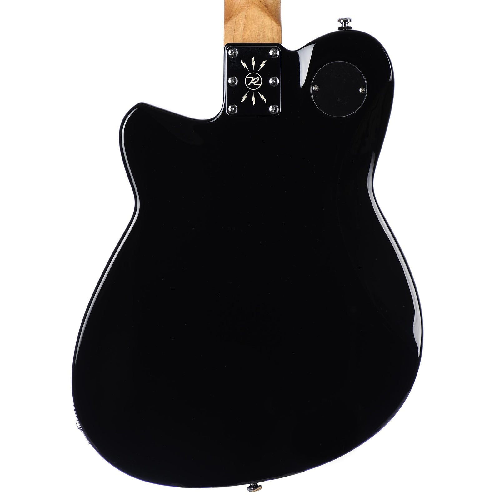 Reverend Double Agent OG - Roasted Neck - Midnight Black