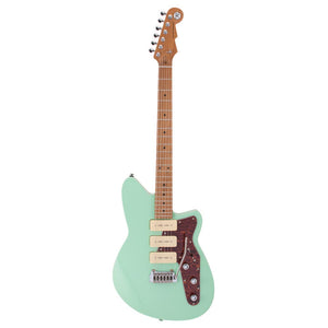 Reverend Jetstream 390 - Roasted Neck - Oceanside Green