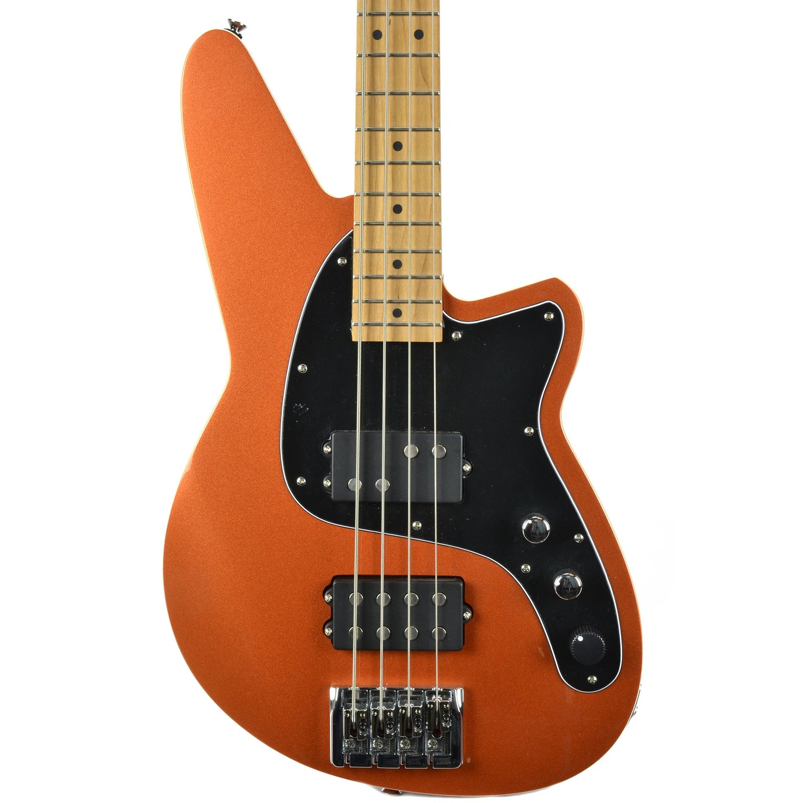 Reverend Mercalli 4 Bass - Roasted Neck - Metallic Copper Fire