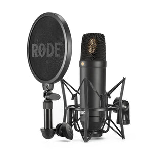 "Rode Fixed Cardioid 1"" Condenser Microphone With SMR Shock Mount"