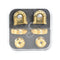 Schaller S-Locks - Gold