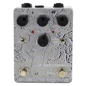 Smallsound/Bigsound F*ck Overdrive, Overdrive and Fuzz Pedal