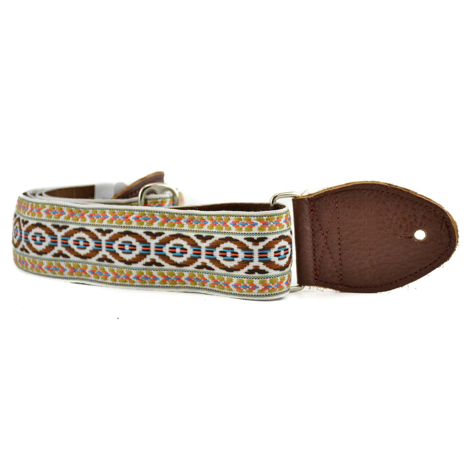 "Souldier 2"" Bohemian Strap - Brown/Turquoise O'S"