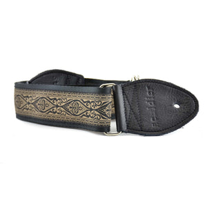 Souldier Ellington Guitar Strap - Black/Tan