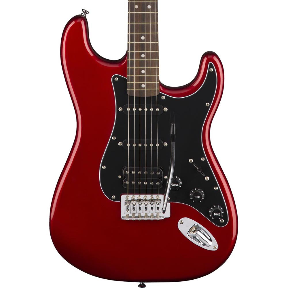Squier Affinity Series Stratocaster HSS Pack - Candy Apple Red
