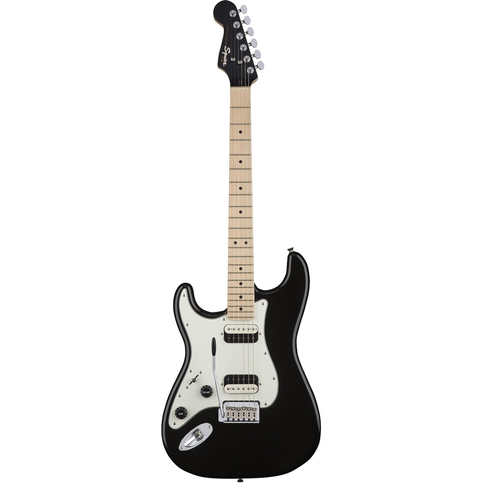 Squier Contemporary Stratocaster HH Left-Handed - Maple - Black Metallic