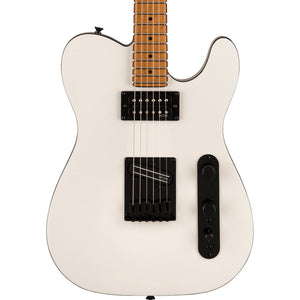 Squier Contemporary Telecaster RH Roasted Maple, Pearl White