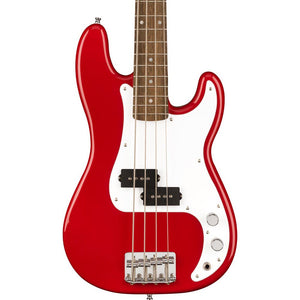 Squier Mini Precision Bass Laurel, White Pickguard Dakota Red
