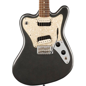 Squier Paranormal Super-Sonic Laurel, White Pearloid Pickguard Graphite Metallic