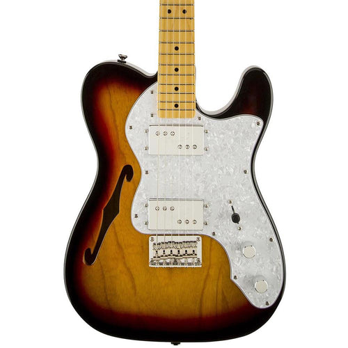 Squier Vintage Modified '72 Tele Thinline, 3-Color Sunburst
