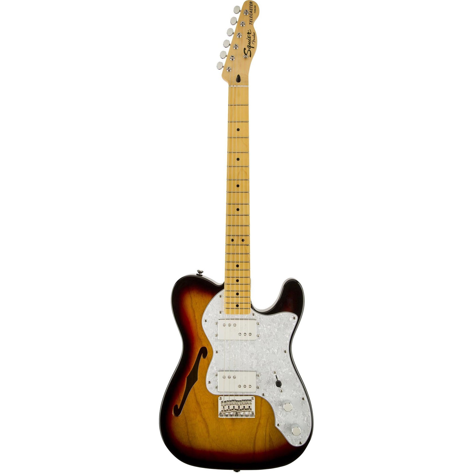 Squier Vintage Modified '72 Tele Thinline - 3-Color Sunburst