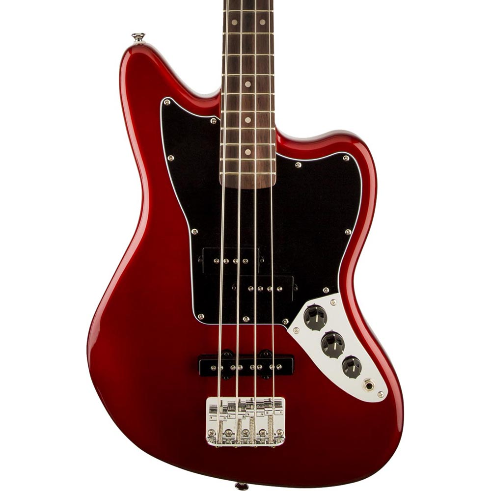 Squier Vintage Modified Jaguar Bass Special SS - Laurel - Candy Apple Red