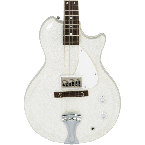 Supro Americana Series Belmont Guitar - Sparkle White