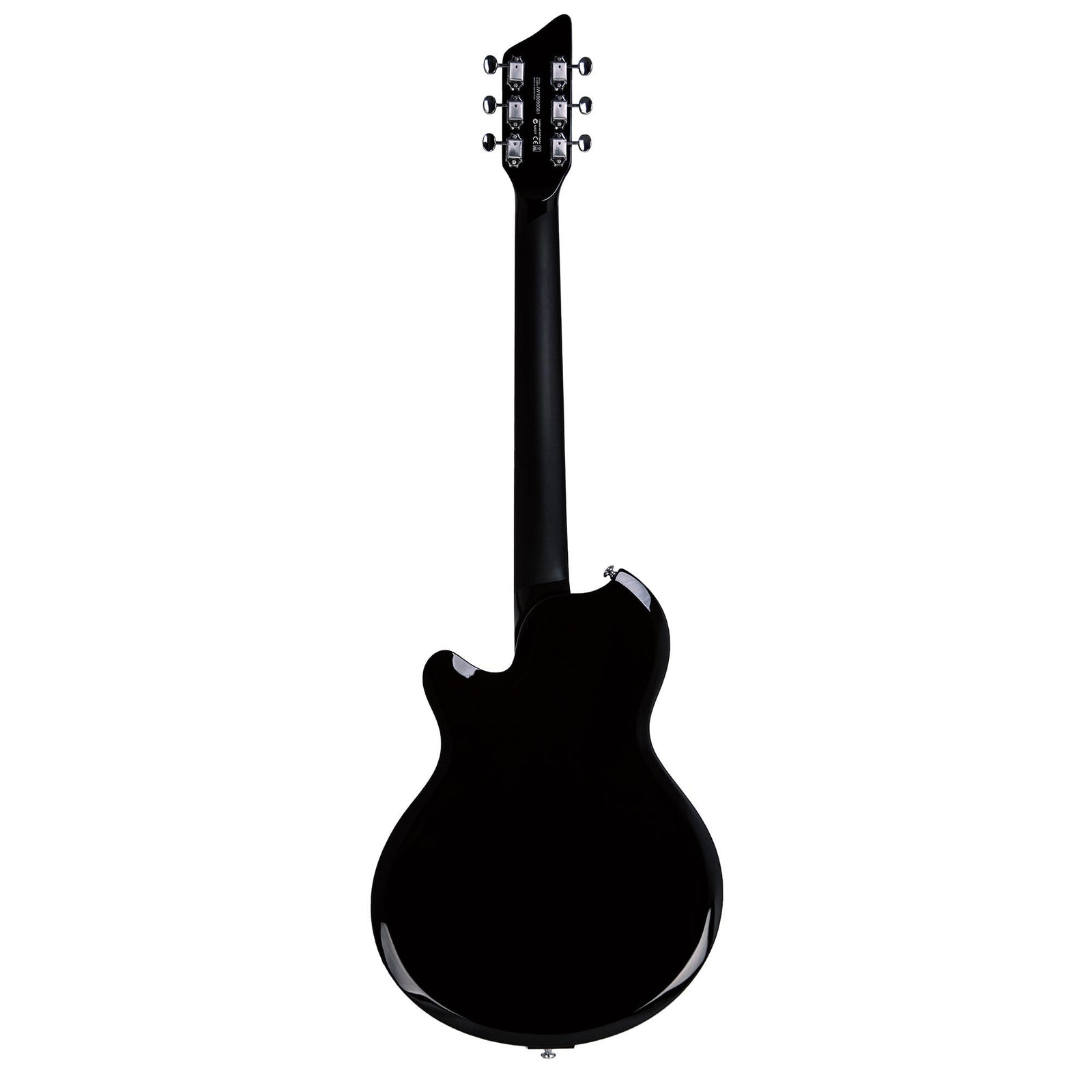 Supro Island Series Jamesport Guitar - Single Pickup - Jet Black - Free Gig-Bag