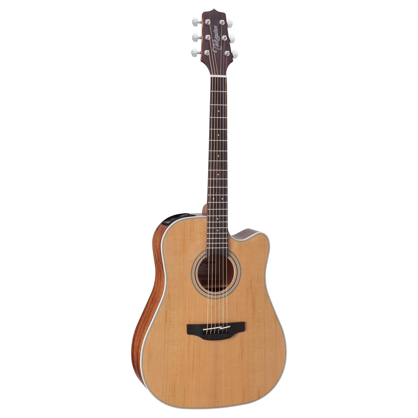 Takamine GD20CE - Dreadnought With Cutaway - Solid Cedar Top - Natural