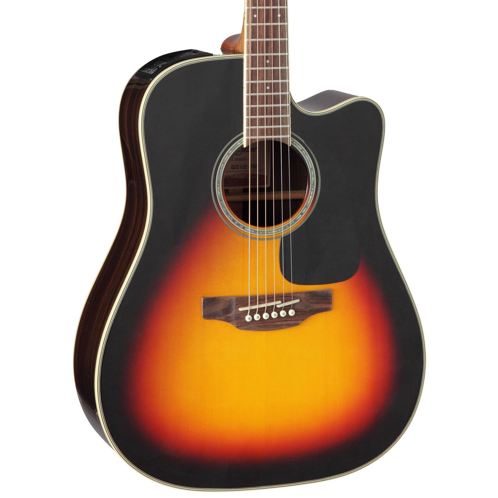 Takamine GD51CE G50 Dreadnought - Solid Spruce Top - Brown Sunburst