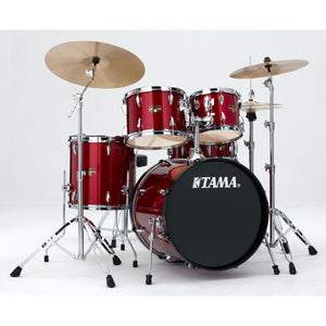 Tama 5 Piece Imperialstar Kit - Meinl HCS Cymbals - Candy Apple Mist