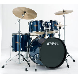 Tama 5 Piece Imperialstar Kit - Meinl HCS Cymbals - Midnight Blue