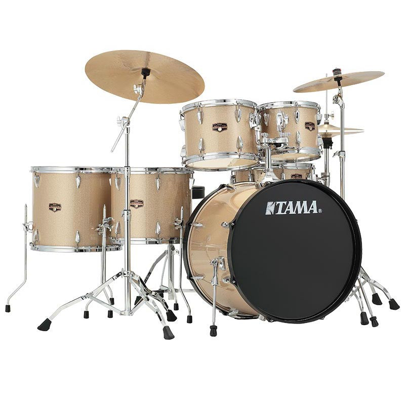 Tama - 5 Piece Imperialstar Kit With Meinl HCS Cymbals - Champange Mist - 18""