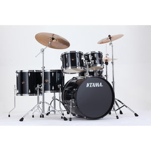 Tama 6 Piece Imperialstar Kit - Meinl HCS Cymbals Hairline Black
