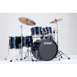 Tama 6 Piece Imperialstar Kit - Meinl HCS Cymbals Midnight Blue