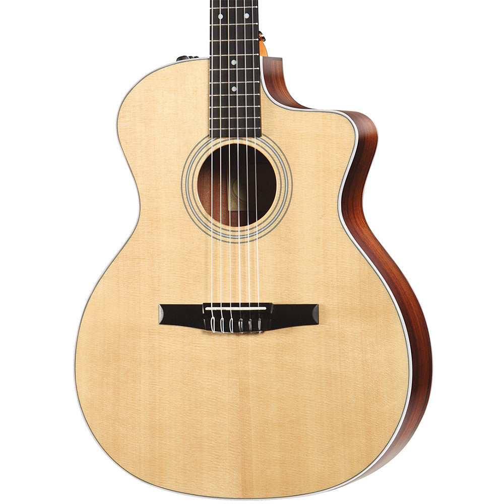 Taylor 214CE Nylon Spruce Grand Auditorium - Natural