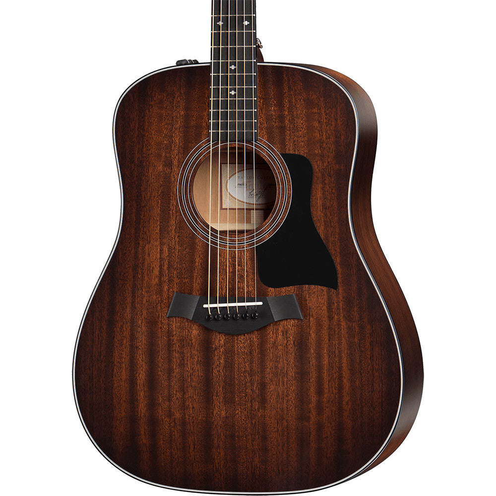 Taylor 320E Mahogany Dreadnought - Shaded Edgeburst
