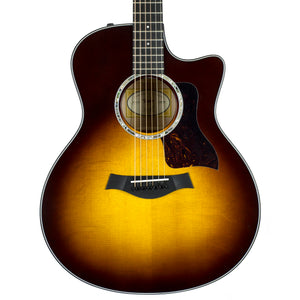 Taylor 416CE Limited Cutaway Grand Symphony - Figured Maple - Tobacco Sunburst