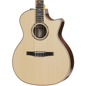 Taylor 814CE Nylon Spruce/Rosewood Grand Auditorium - Natural