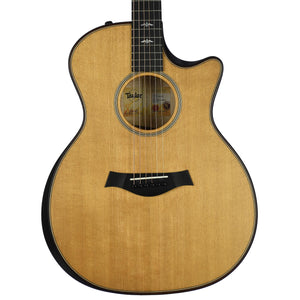 Taylor Builder's Edition 614CE - Natural Top, Wild Honey Burst Back & Sides