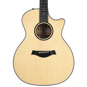 Taylor 2019 Custom Grand Auditorium Lutz Spruce/Blackheart Sassafras - BTO-11322