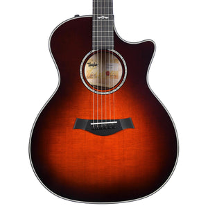 Taylor Limited Edition 614Ce With Quilt Maple And Desert Sunburst