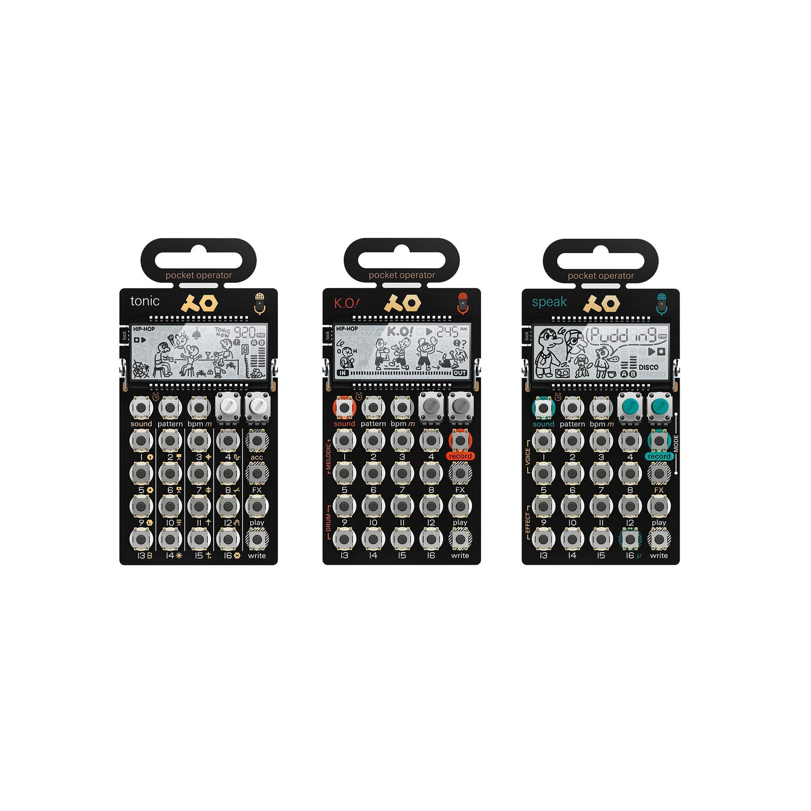 Teenage Engineering PO-30 Metal Series Super Set