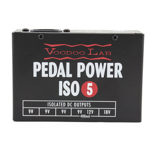 Voodoo Lab Compact 5-Output Isolated Power Supply