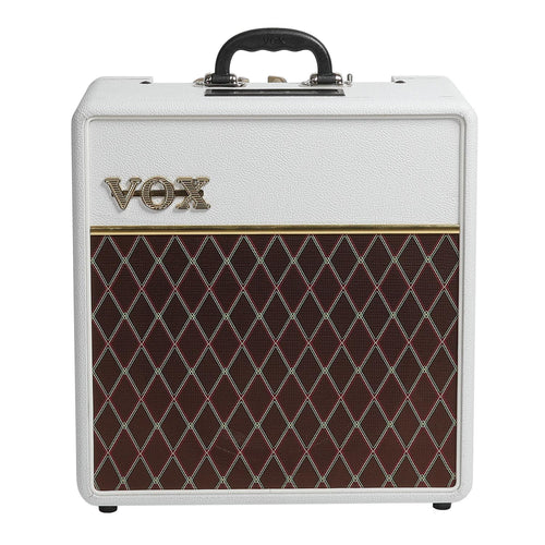 Vox Limited Edition AC4C1 4W 1x10 Classic Tube Amp - White Bronco