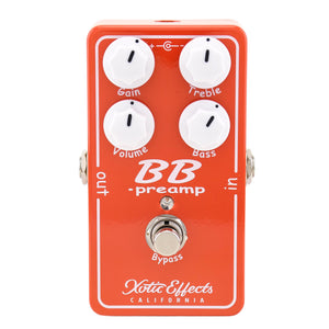 Xotic BB Preamp V1.5 Guitar Boost Pedal
