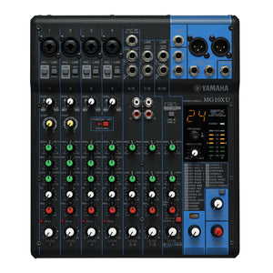 Yamaha 10-Input Stereo Mixer - 24 Spx Effects - 2 Channels Of Single-Knob