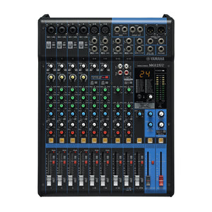 Yamaha 12-Input 4-Bus Mixing Console With Effects - 4 Channels Of Single-Knob