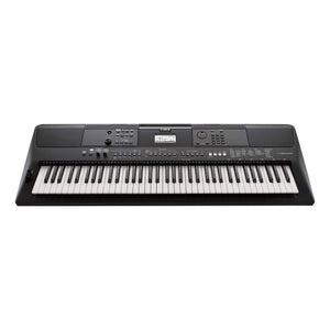 Yamaha PSR-EW410 76 Key High Level Portable Keyboard With PA300 AC Power Adapter